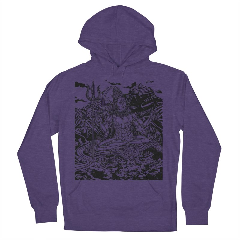 SHIVA THE CREATOR & DESTROYER Men's Pullover Hoody by  SAMSKARA