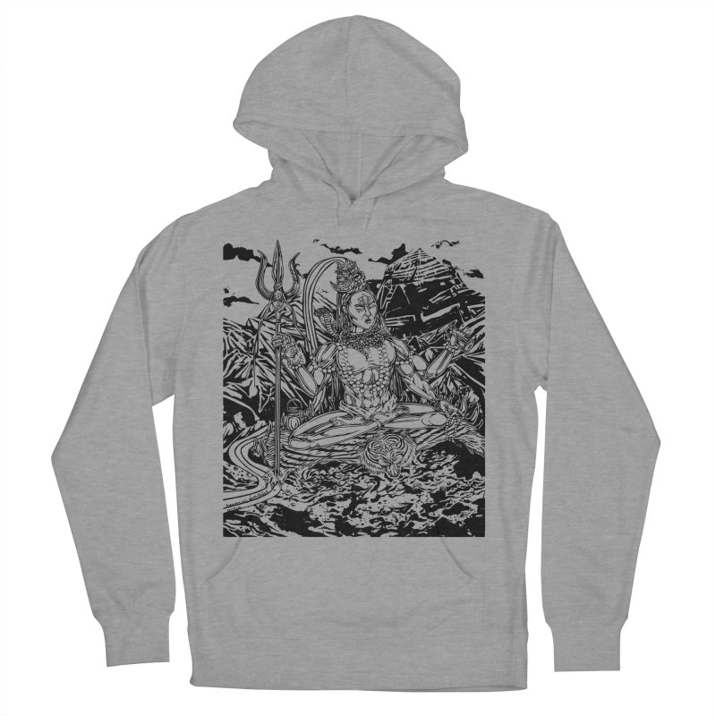 SHIVA THE CREATOR & DESTROYER Men's French Terry Pullover Hoody by  SAMSKARA