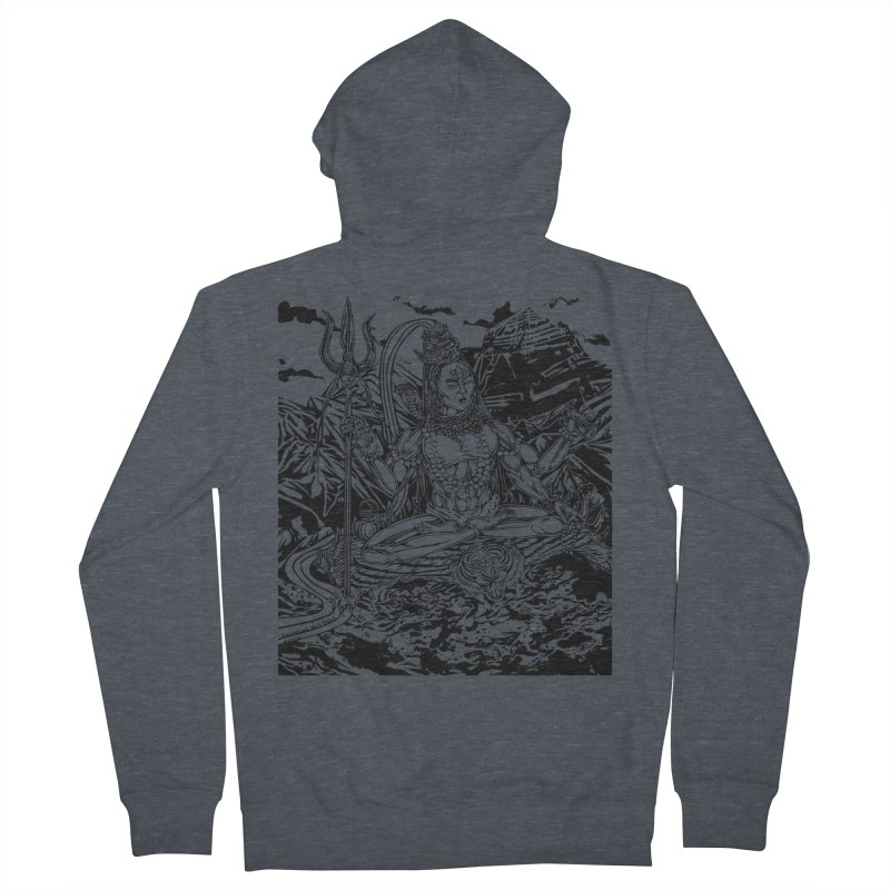 SHIVA THE CREATOR & DESTROYER Women's Zip-Up Hoody by  SAMSKARA