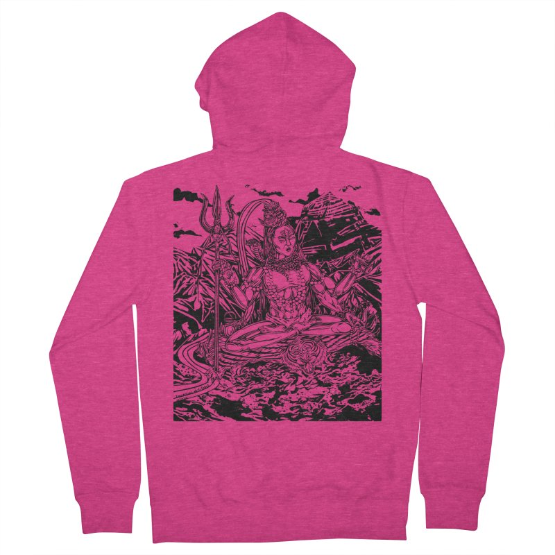 SHIVA THE CREATOR & DESTROYER Women's French Terry Zip-Up Hoody by  SAMSKARA