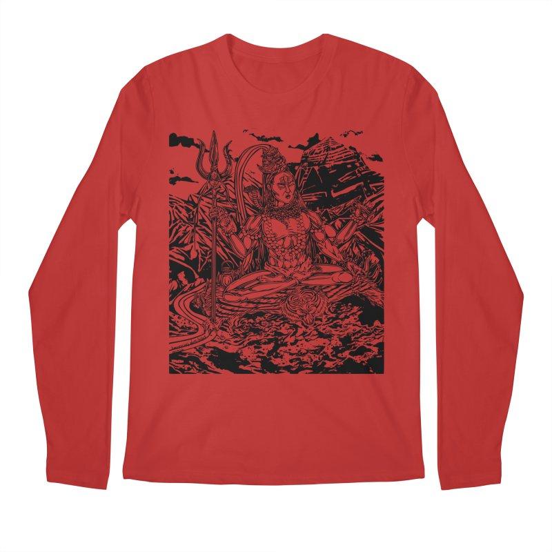SHIVA THE CREATOR & DESTROYER Men's Longsleeve T-Shirt by  SAMSKARA