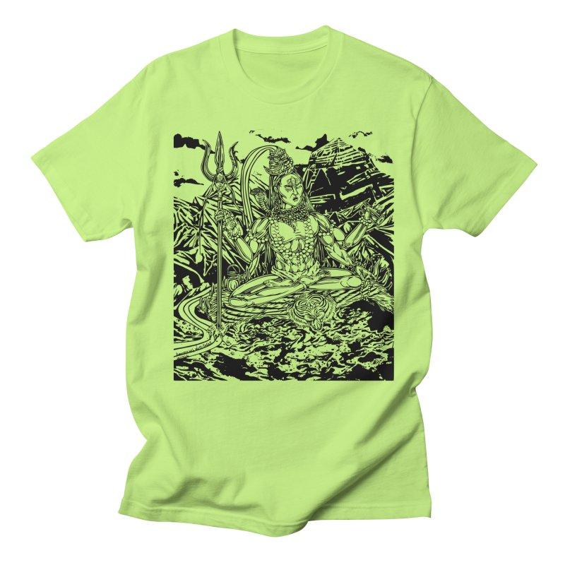 SHIVA THE CREATOR & DESTROYER Men's T-Shirt by  SAMSKARA