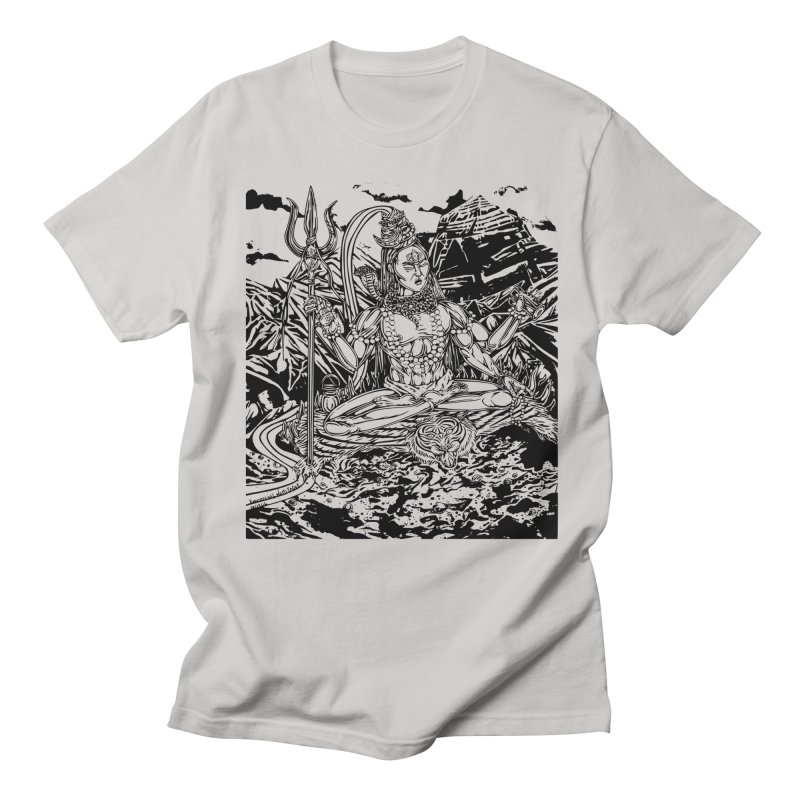 SHIVA THE CREATOR & DESTROYER Men's T-shirt by  SAMSKARA