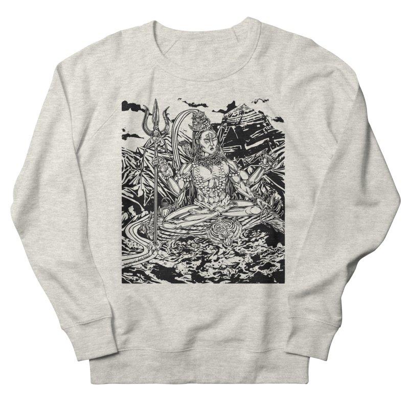 SHIVA THE CREATOR & DESTROYER Women's French Terry Sweatshirt by  SAMSKARA