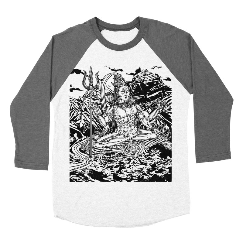 SHIVA THE CREATOR & DESTROYER Women's Baseball Triblend T-Shirt by  SAMSKARA