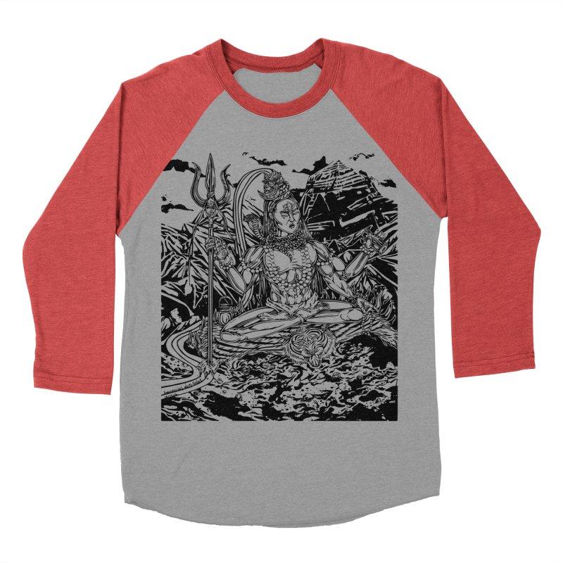 SHIVA THE CREATOR & DESTROYER Women's Baseball Triblend Longsleeve T-Shirt by  SAMSKARA