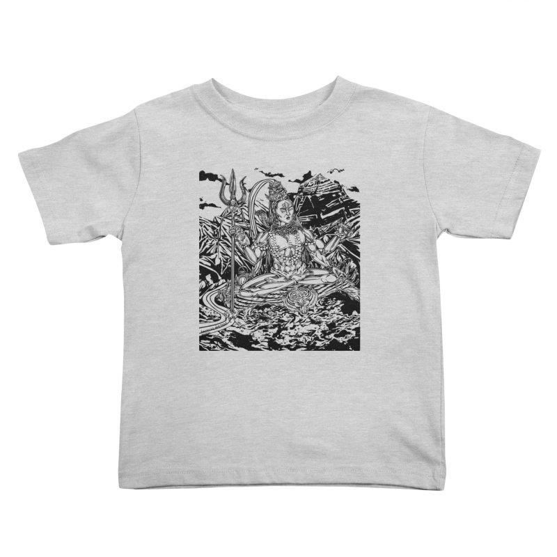 SHIVA THE CREATOR & DESTROYER Kids Toddler T-Shirt by  SAMSKARA