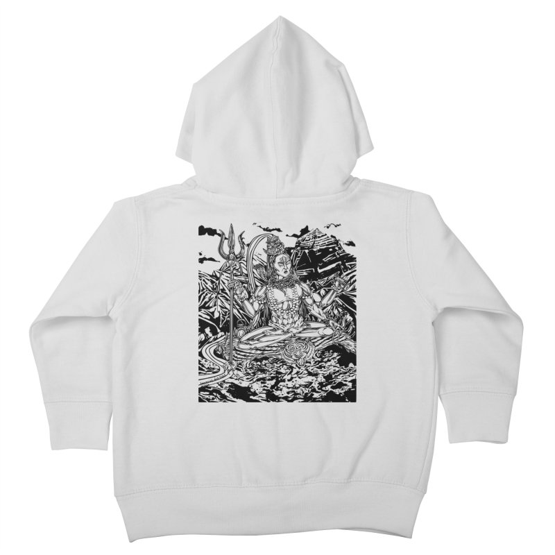 SHIVA THE CREATOR & DESTROYER Kids Toddler Zip-Up Hoody by  SAMSKARA