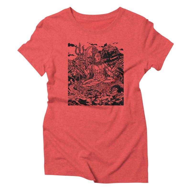 SHIVA THE CREATOR & DESTROYER Women's Triblend T-Shirt by  SAMSKARA