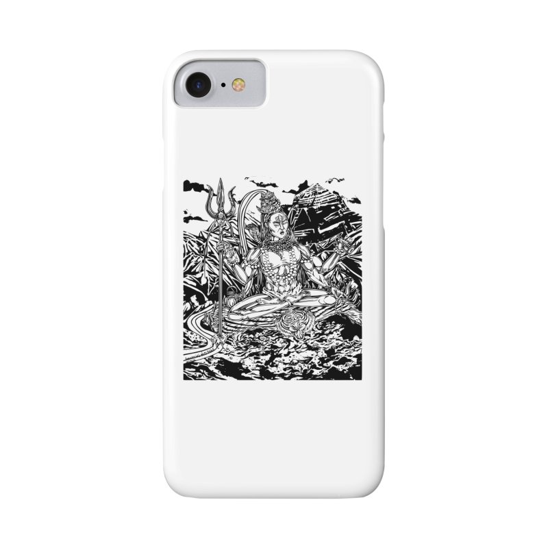 SHIVA THE CREATOR & DESTROYER Accessories Phone Case by  SAMSKARA