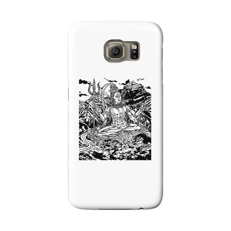 SHIVA THE CREATOR & DESTROYER Accessories Phone Case by  SAMSKARA