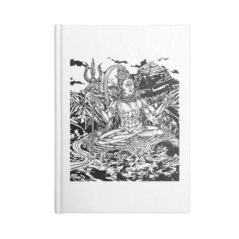 SHIVA THE CREATOR & DESTROYER Accessories Notebook by  SAMSKARA