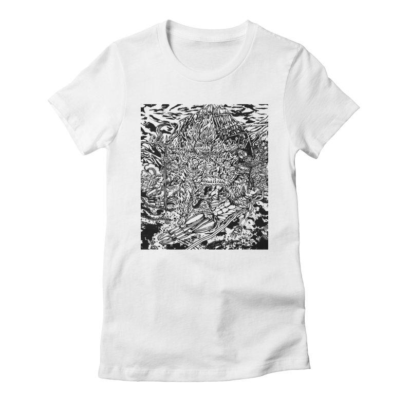 KALI Women's Fitted T-Shirt by  SAMSKARA