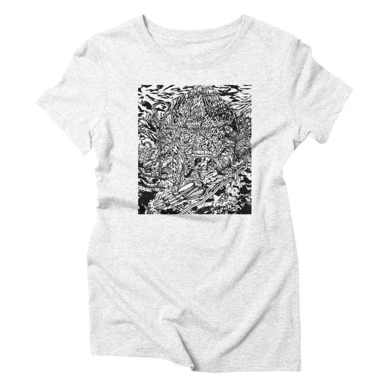 KALI Women's Triblend T-shirt by  SAMSKARA