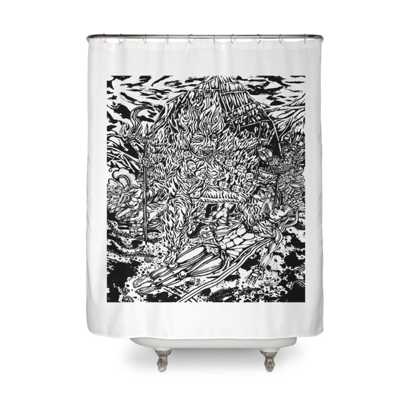 KALI Home Shower Curtain by  SAMSKARA