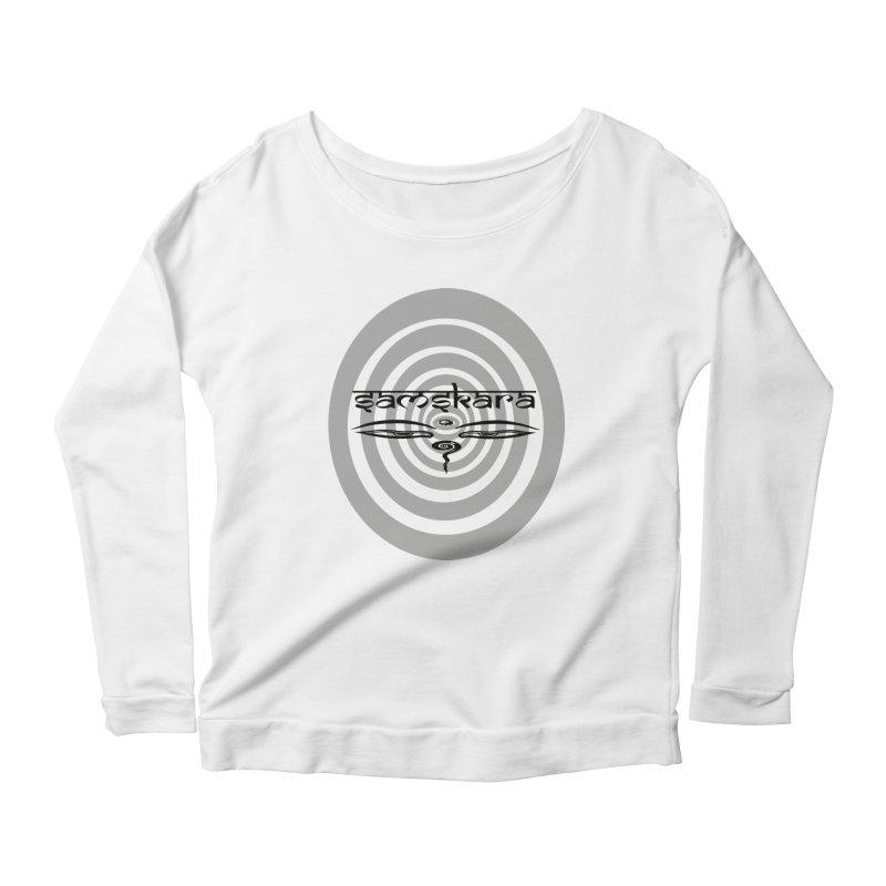 SAMSKARA Women's Scoop Neck Longsleeve T-Shirt by  SAMSKARA