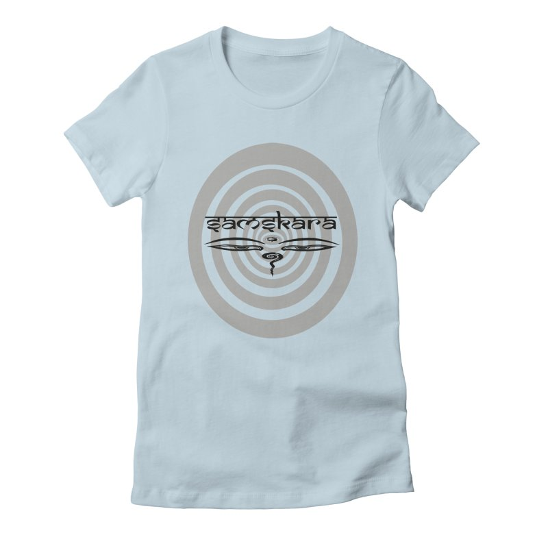 SAMSKARA Women's Fitted T-Shirt by  SAMSKARA