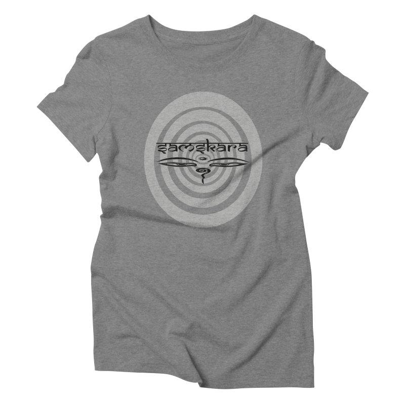 SAMSKARA Women's Triblend T-shirt by  SAMSKARA