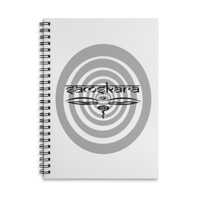 SAMSKARA Accessories Lined Spiral Notebook by  SAMSKARA
