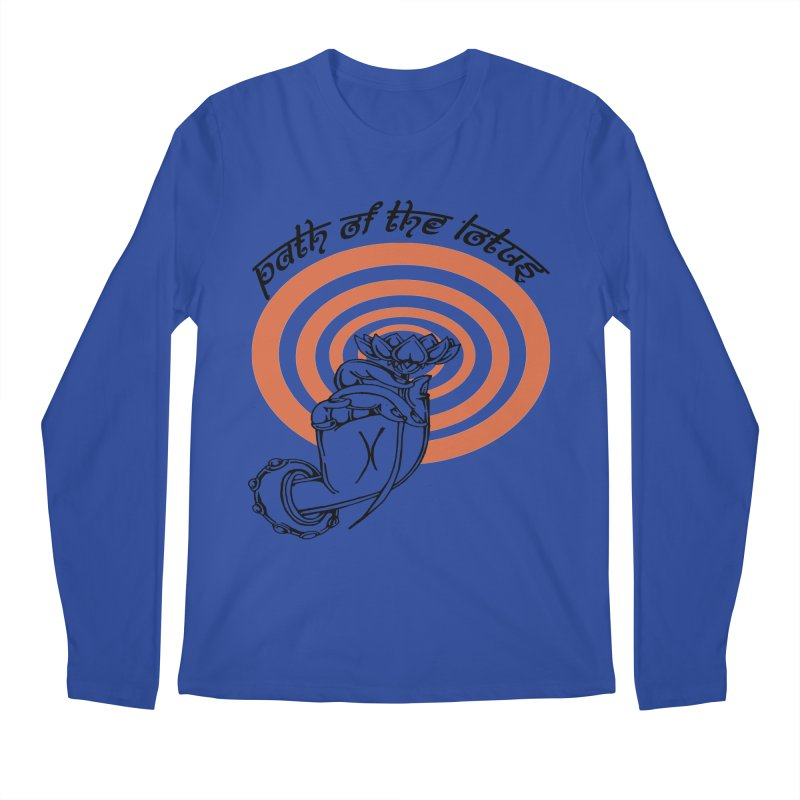 PATH OF THE LOTUS  Men's Longsleeve T-Shirt by  SAMSKARA