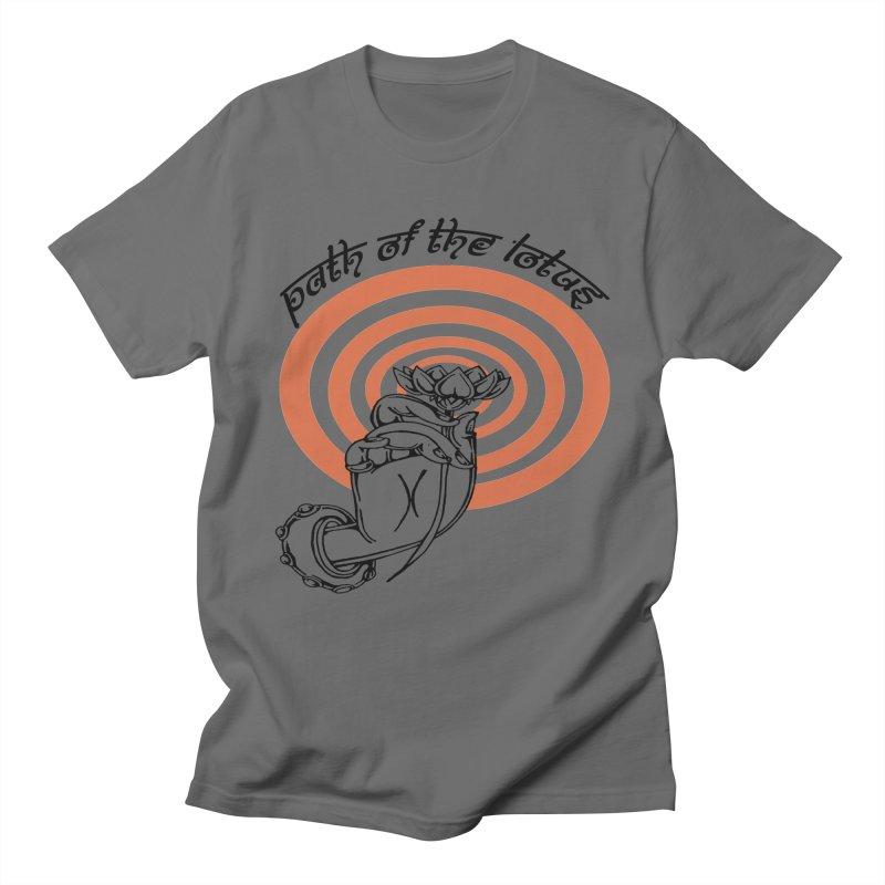 PATH OF THE LOTUS  Men's T-shirt by  SAMSKARA