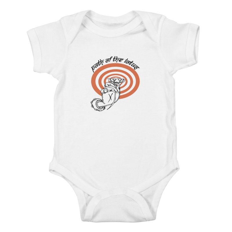 PATH OF THE LOTUS  Kids Baby Bodysuit by  SAMSKARA