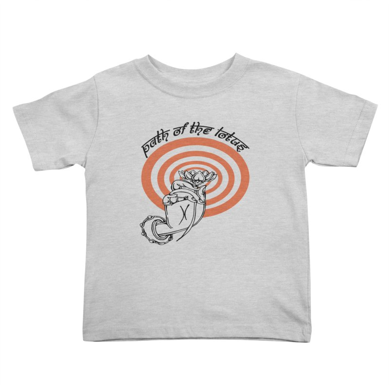 PATH OF THE LOTUS  Kids Toddler T-Shirt by  SAMSKARA