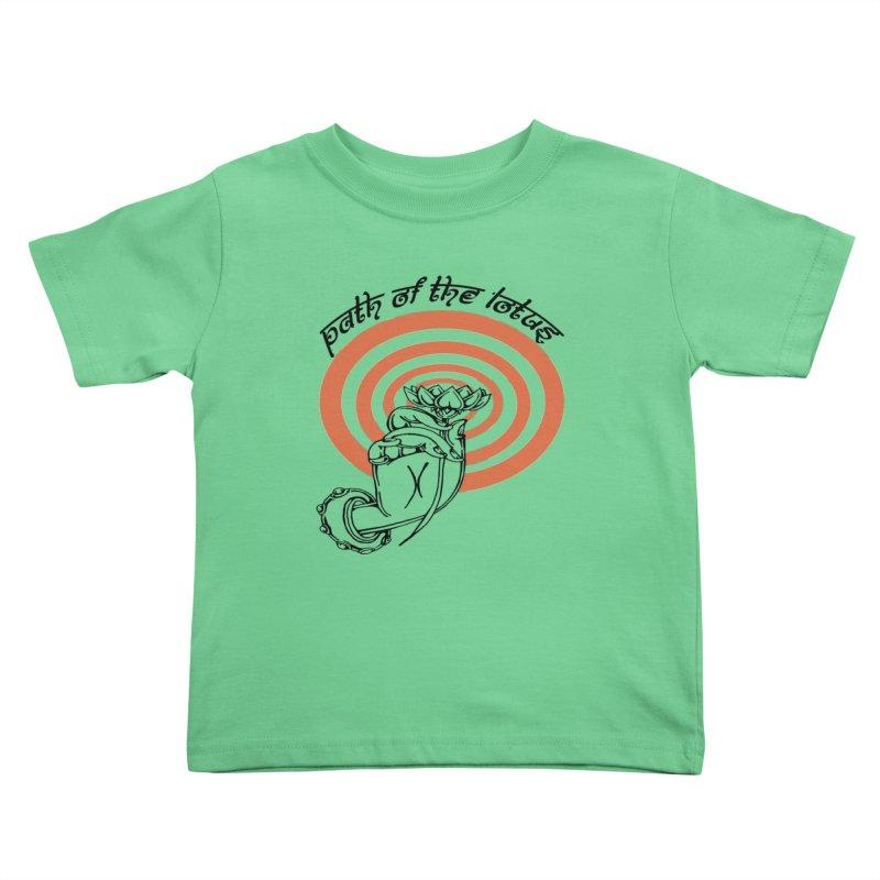 PATH OF THE LOTUS  Kids Toddler T-Shirt by  SAMSKARA