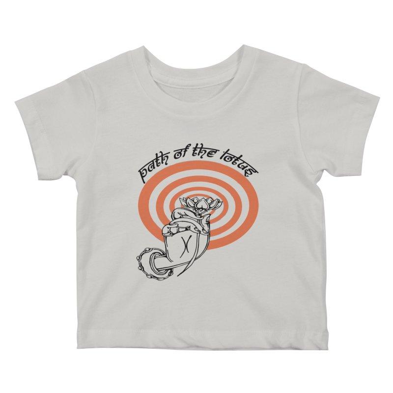 PATH OF THE LOTUS  Kids Baby T-Shirt by  SAMSKARA
