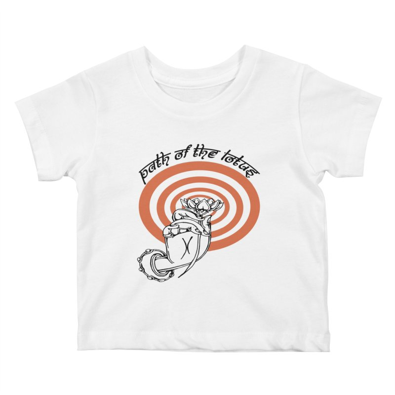 PATH OF THE LOTUS  Kids Baby T-Shirt by  SAMSKARA