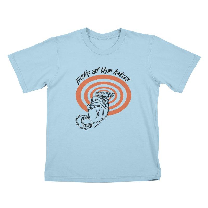 PATH OF THE LOTUS  Kids T-Shirt by  SAMSKARA