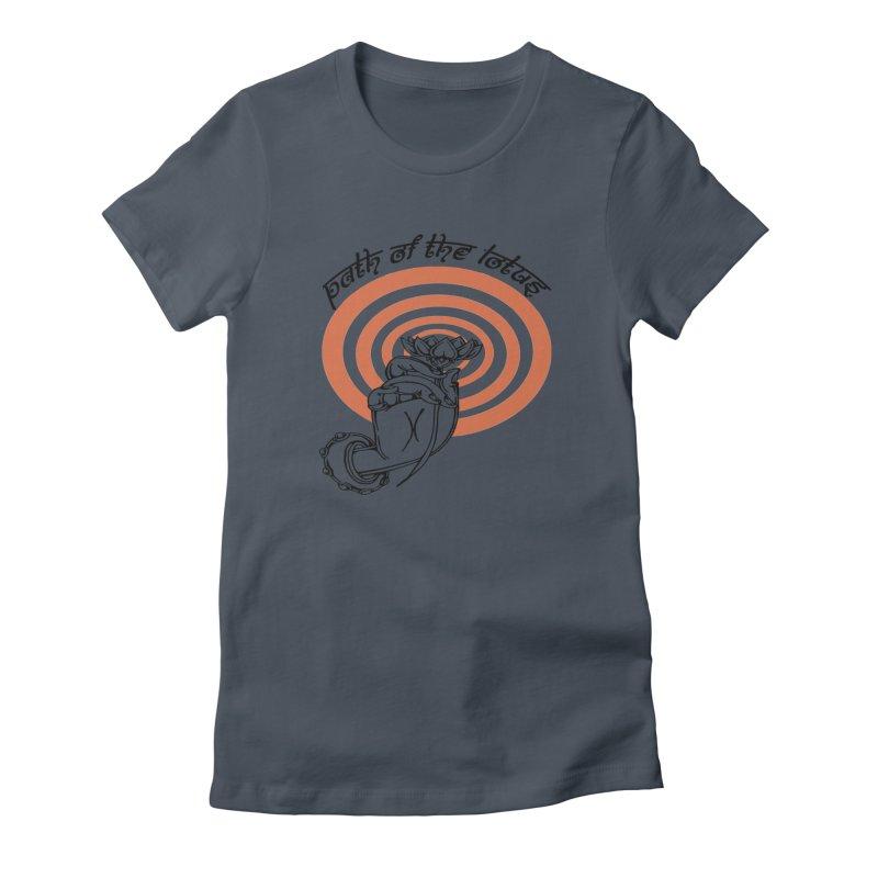 PATH OF THE LOTUS  Women's T-Shirt by  SAMSKARA