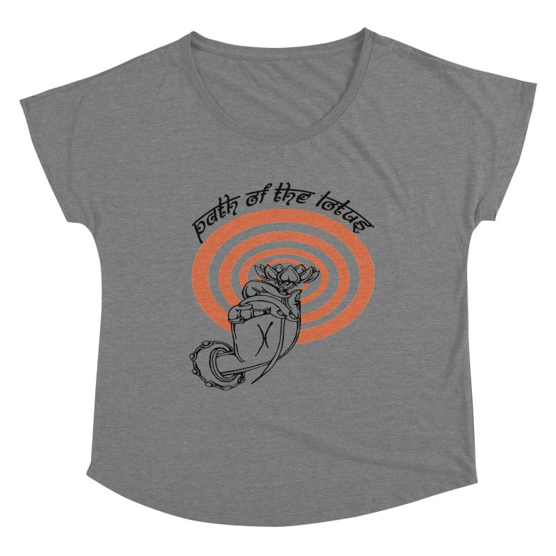 PATH OF THE LOTUS  Women's Scoop Neck by  SAMSKARA