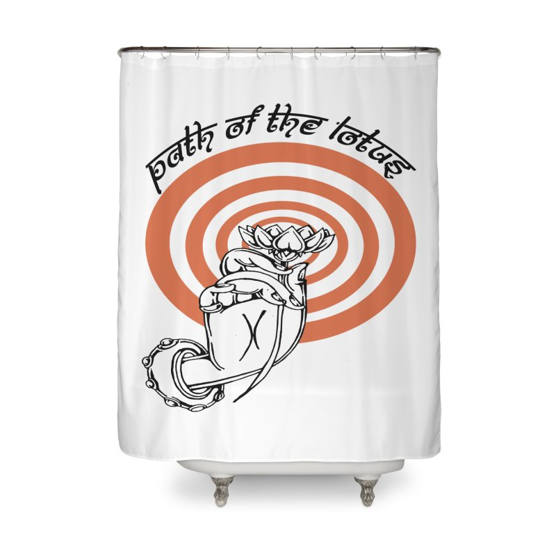 PATH OF THE LOTUS  Home Shower Curtain by  SAMSKARA