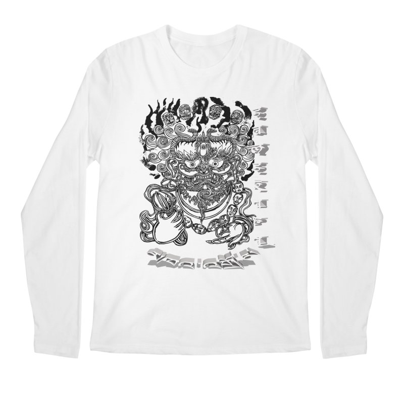 Dakini Samskara  Men's Regular Longsleeve T-Shirt by  SAMSKARA