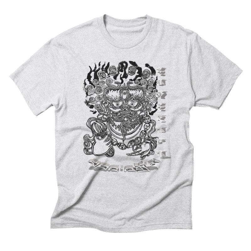 Dakini Samskara  Men's Triblend T-Shirt by  SAMSKARA