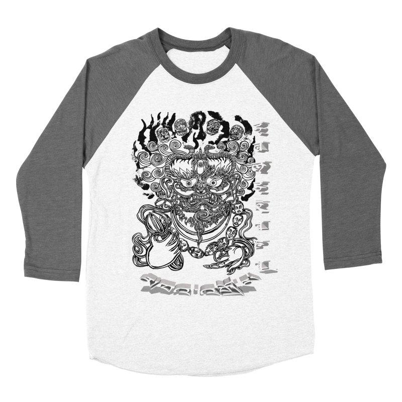 Dakini Samskara  Men's Baseball Triblend Longsleeve T-Shirt by  SAMSKARA