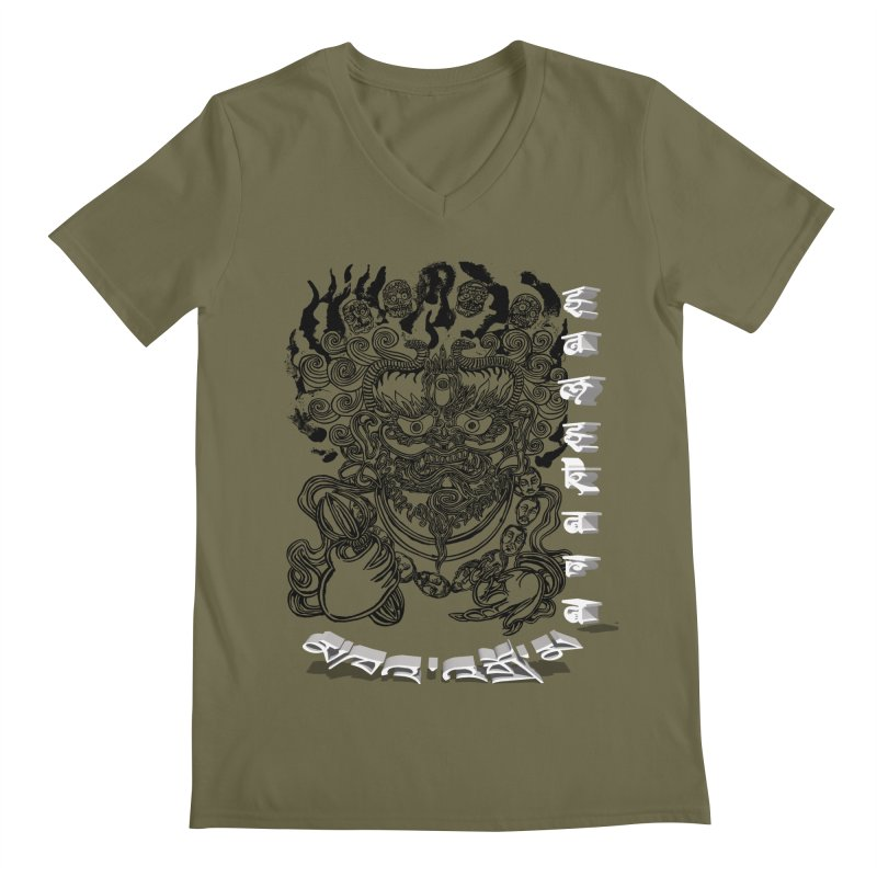 Dakini Samskara  Men's V-Neck by  SAMSKARA
