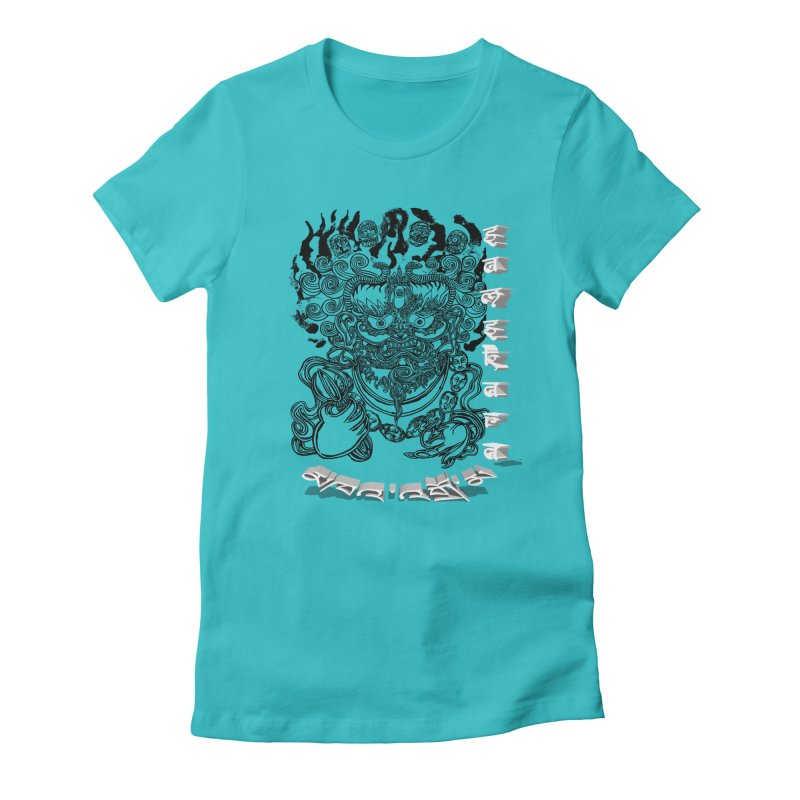 Dakini Samskara  Women's Fitted T-Shirt by  SAMSKARA