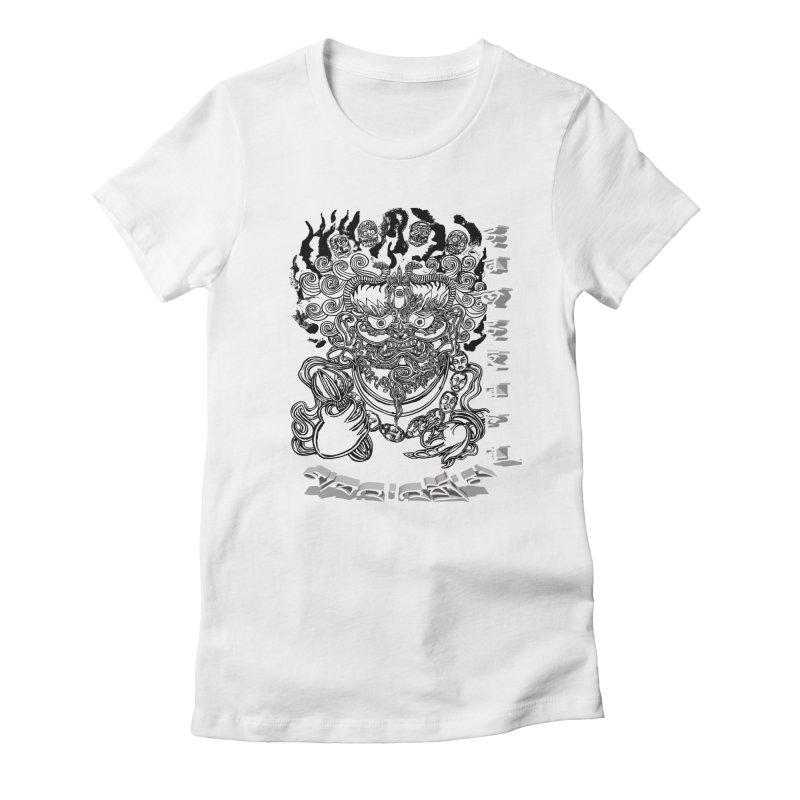 Dakini Samskara  Women's Fitted T-Shirt by  SAMSKARA