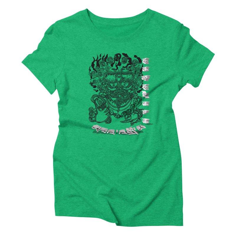 Dakini Samskara  Women's Triblend T-Shirt by  SAMSKARA