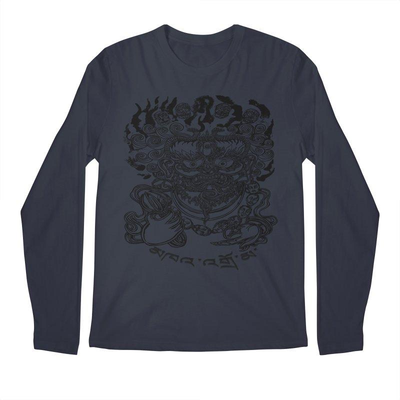 Dakini  Men's Regular Longsleeve T-Shirt by  SAMSKARA