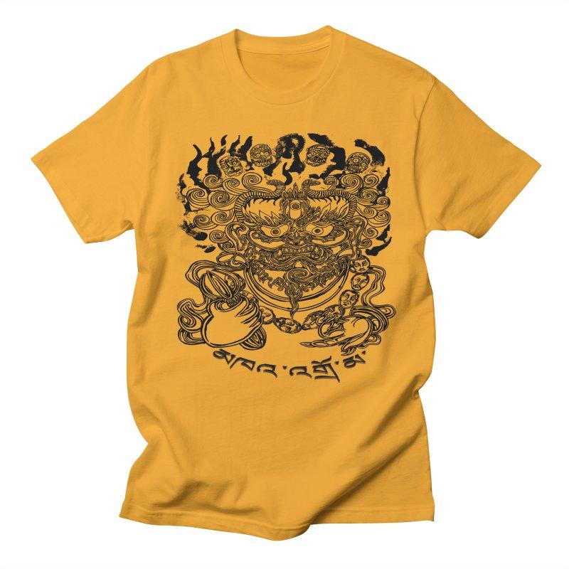 Dakini  Men's Regular T-Shirt by  SAMSKARA