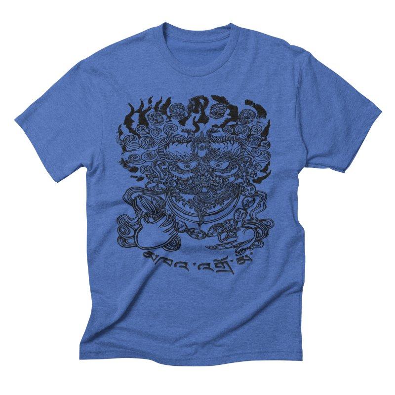 Dakini  Men's Triblend T-Shirt by  SAMSKARA