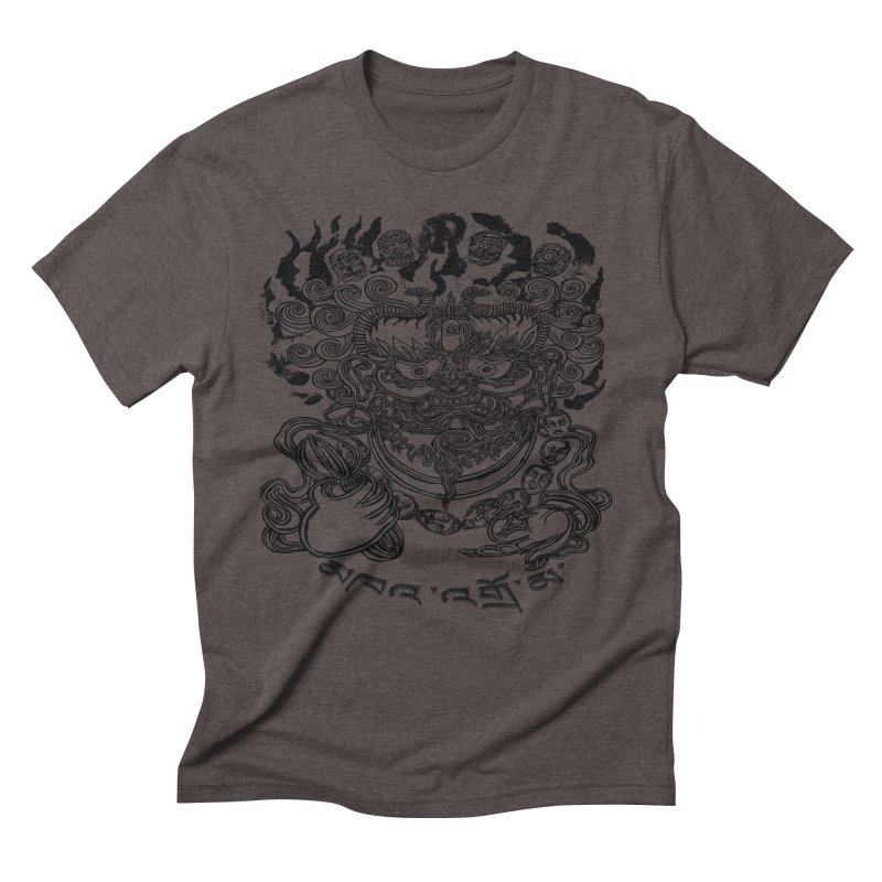 Dakini  Men's Triblend T-Shirt by  SAMSKARA