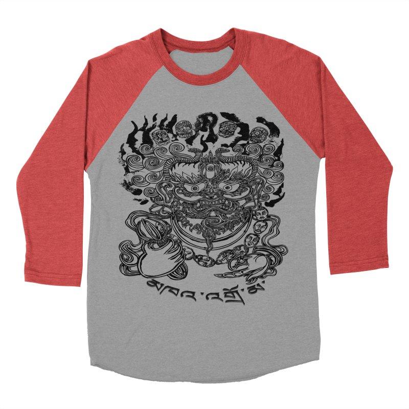 Dakini  Men's Baseball Triblend T-Shirt by  SAMSKARA