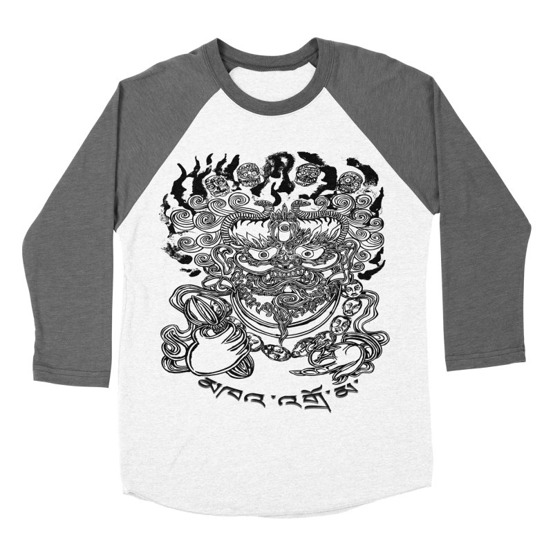 Dakini  Men's Baseball Triblend Longsleeve T-Shirt by  SAMSKARA