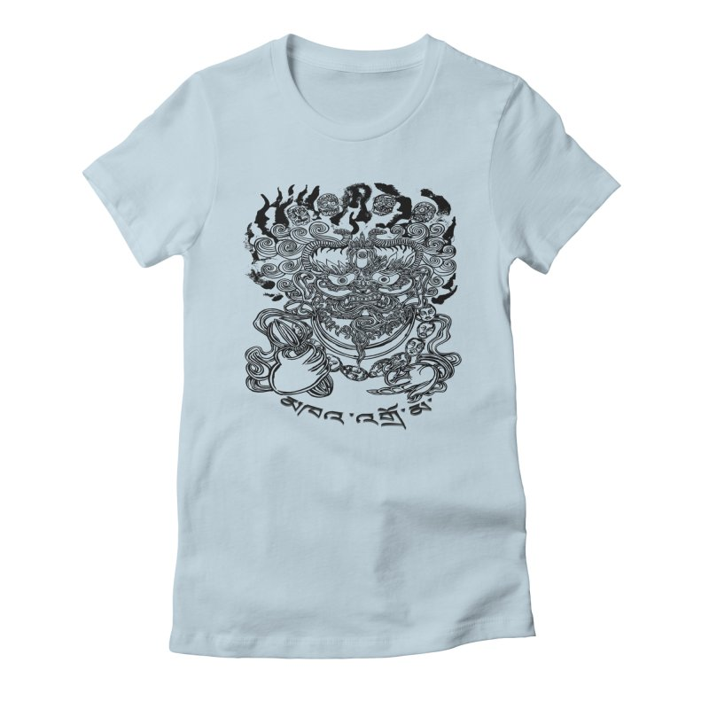 Dakini  Women's Fitted T-Shirt by  SAMSKARA