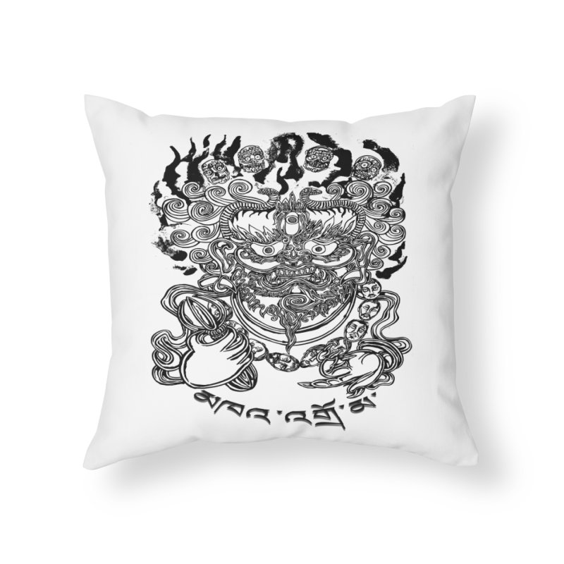 Dakini  Home Throw Pillow by  SAMSKARA