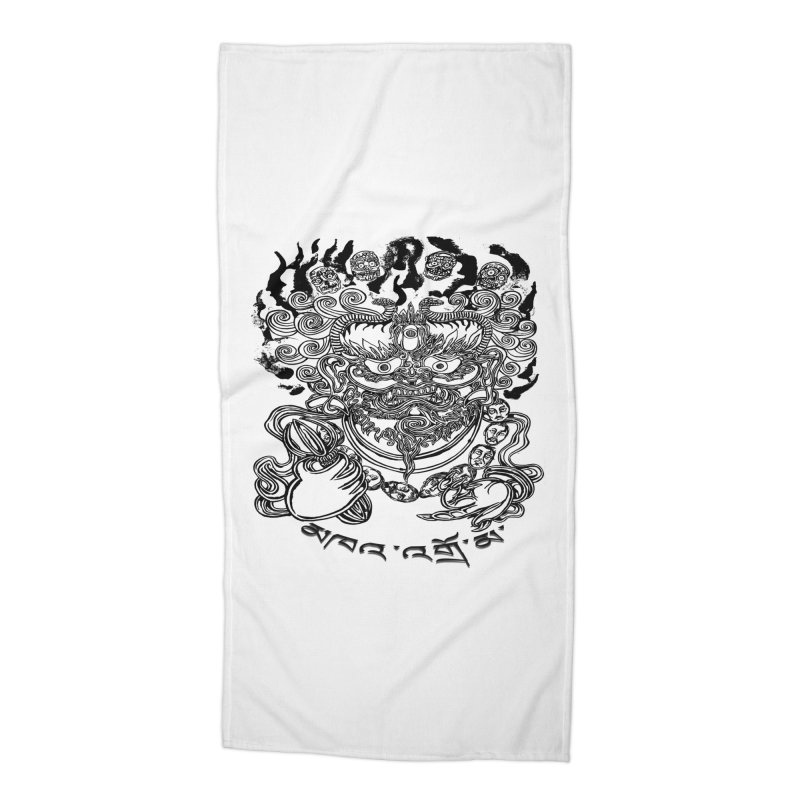 Dakini  Accessories Beach Towel by  SAMSKARA